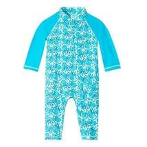 UV SKINZ UPF 50+ Baby Boys Sun & Swim Suit - Aqua Octopus - 6/12m - $43.78