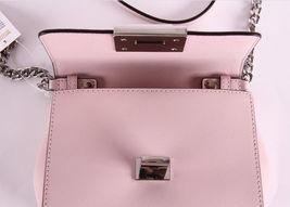 Michael Kors Tina womens small CLUTCH BAG crossbod stud floral Pink NWT  image 4