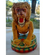 Vintage VIA Magic Action CIRCUS LION Mechanical Toy UNTESTED - £47.58 GBP