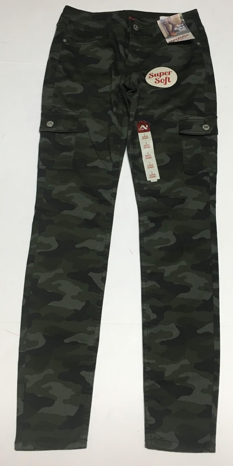 Arizona Camouflage Super Skinny Soft Stretch Pants Sz 5 image 2