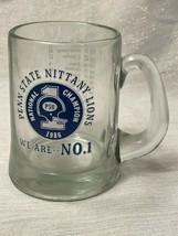 1986 Penn State Football National Championship Glass Stein NCAA PSU - $49.49