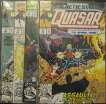 1989 Marvel Comics QUASAR  Lot of 4 Comic books - $8.00