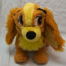 """Disney Lady and the Tramp SOFT & SPARKLY LADY THE DOG 8"""" STUFFED ANIMAL Toy - $16.34"""