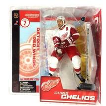 Chris Chelios 2003 McFarlane Toys Sports Picks NHL Series 7 Detroit Red ... - $14.80