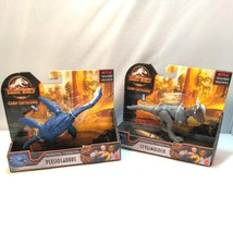 Jurassic World Plesiosaurus & Stygimoloch Action Figure Paddling Camp Cretaceous - $49.44