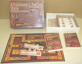 THE OFFICIAL OUTDOOR LIFE TRIVIA BOARD GAME COMPLETE AGAES 8 -108 - $20.31