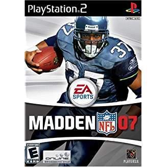 Madden NFL 07 - PlayStation 2  Ps2