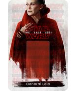 Star Wars Leia The Last Jedi Custom Lego Card Back w/Blister - No Minifi... - $5.00