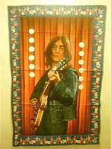 Very Rare Vintage 1960's John Lennon 3'x4' Cotton Wall Cloth New in Pack... - $39.73