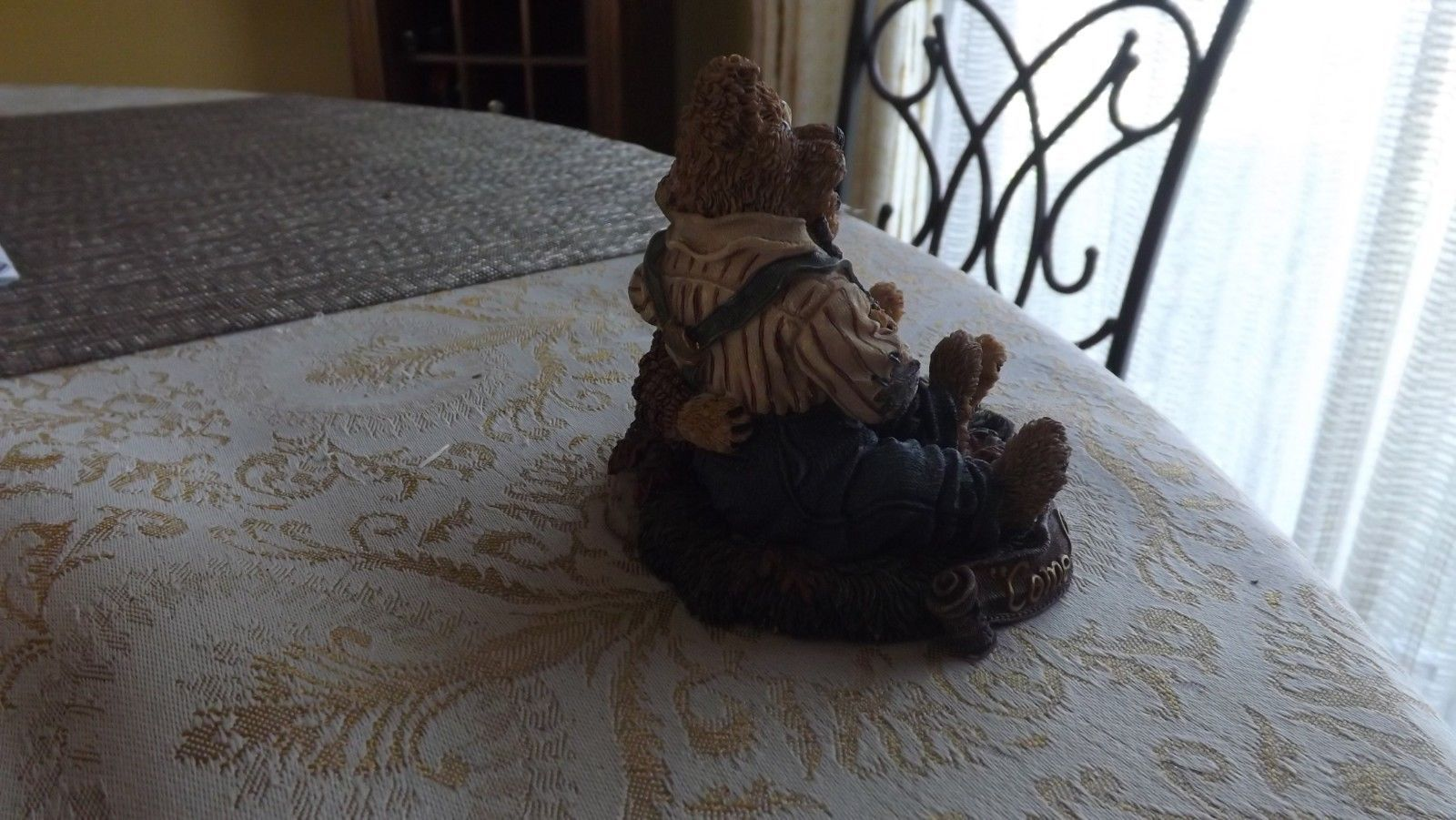 """20#L  Autographed Boyd's Bears Bearstone Collection """"Come Live With Me and Be My"""