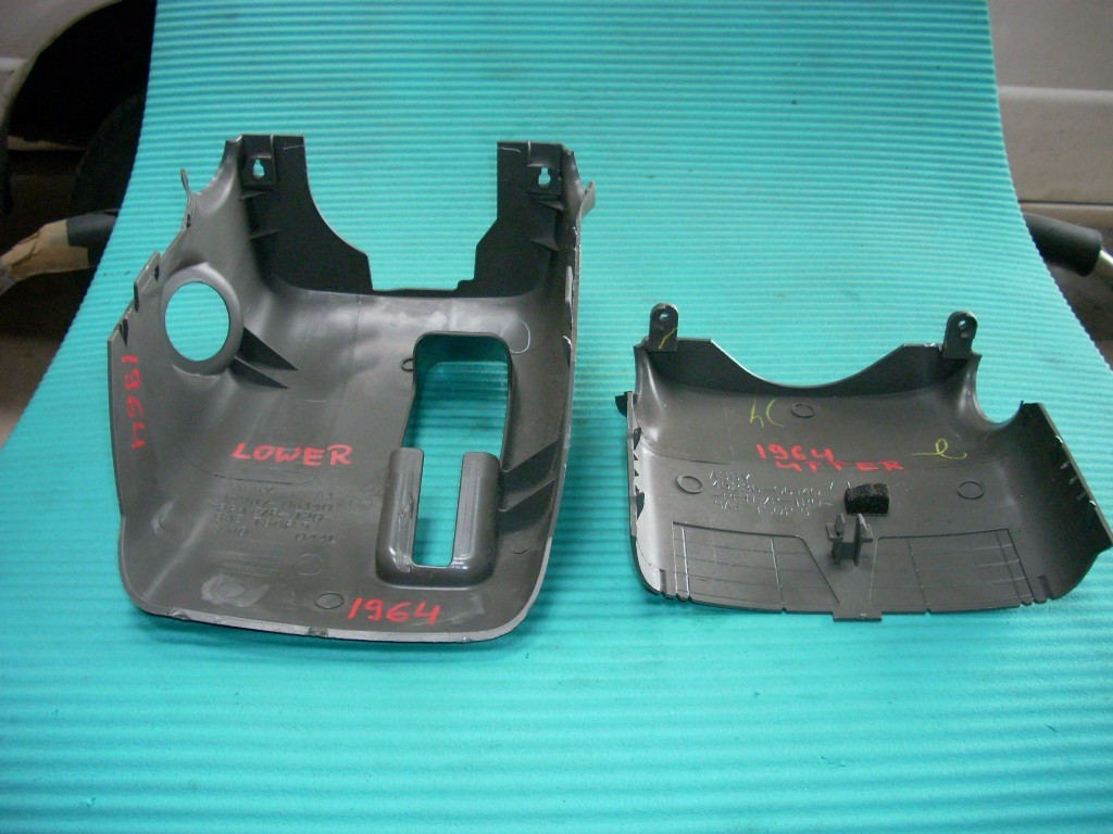 2008 2009 2010 2011 TOYOTA CAMRY LE 2.5L UPPER LOWER COLUMN COVERS GENUINE OEM