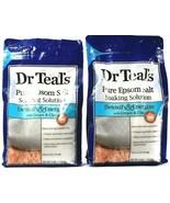 2 Dr. Teals Pure Epsom Salt Soaking Solution Ginger & Clay Detox & Energ... - $34.99