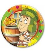 El Chavo del Ocho Party Supplies PLATES LUNCH birthday Decoration Fiesta... - $9.85