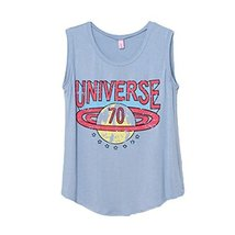 Fashion [Blue] Printing Letters Modal Cotton Women Tank Tops/Camisole One Size L