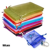 Organza Gift Bags with Drawstring 5'' X 7'' Wedding Party Favor Gift Bag... - $16.50
