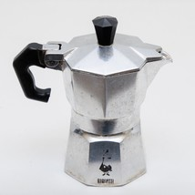 Bialetti Moka Express Espresso Coffee Maker, 1 Cup Individual Made In Italy - $13.37