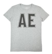 American Eagle Mens Heather Grey AE Big Logo Graphic Tee Shirt Medium M 3296-5 - $18.50
