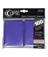 Ultra PRO Matte ECLIPSE Royal Purple Deck Protector Sleeves 100ct ULP85610 - $11.75
