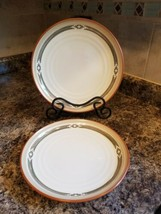 Two (2) Noritake PUEBLO MOON Dinner Plates 8457 - $47.97