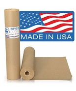 """Brown Kraft Paper Roll - 18"""" x 1,200"""" (100') Made in The USA - Ideal for... - $59.99"""