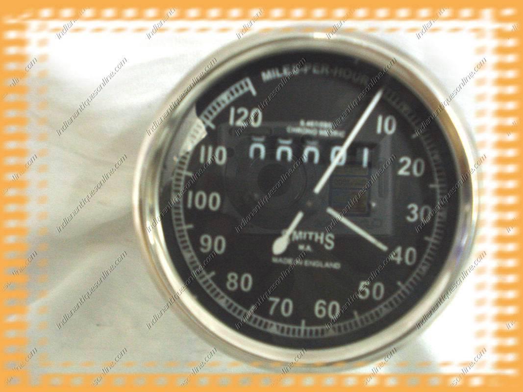 Classic Smiths Speedo M / hr 120 für Oldtimer-Motorr