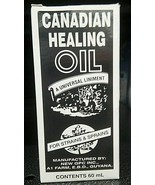1 bt Canadian Healing Oil 60 mL - $15.84