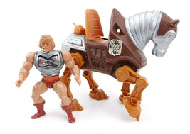 Playmates 1984 Armor Figure with Mechanical Horse  - $35.67