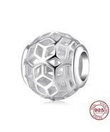 AUTHENTIC PДNDORA CHARM HOLLOW OUT 925 Sterling Silver Original Beads Br... - $9.97