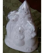 Snowman Family 94531 Plaster Statue Ready to Pa... - $9.99
