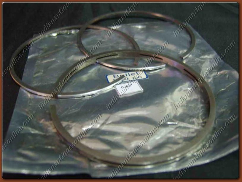 Royal Enfield Bullet Piston Ring Set 500cc Oversize.040