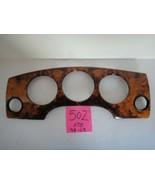 JAGUAR XJ8 1998-2003 WOOD DASH GAUGE BEZEL USED OEM PART #502 - $34.60