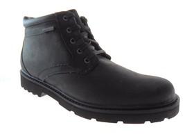 ROCKPORT A13969 VR PT MEN'S BLACK HYDRO-SHIELD WATERPROOF VIBRAM SOLE BOOTS - $106.59