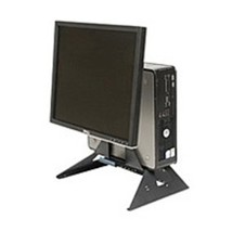 Rack Solutions 807648007824 RETAIL-DELL-AIO-015 Computer Stand - Black - $74.97
