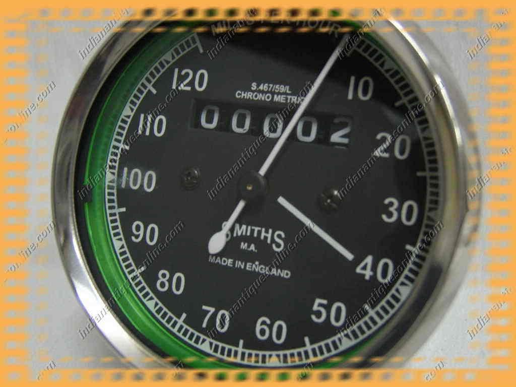 Replica Smiths Geschwindigkeitsmesser vitesse M / heure