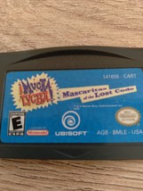 Nintendo Game Boy Advance GBA Mucha Lucha! Mascaritans Of The Lost Code image 2