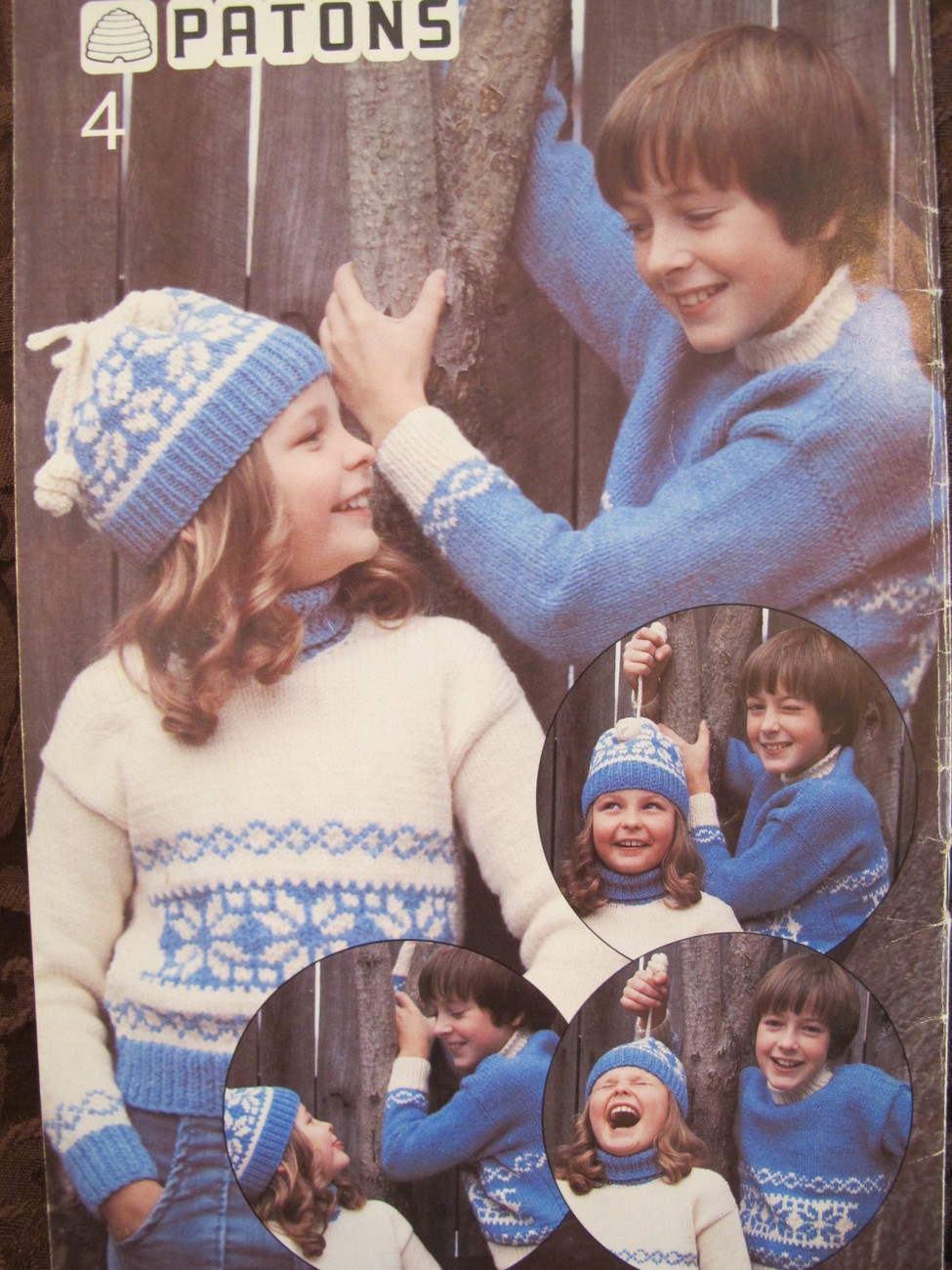 Vintage Patons Knitting Crocheting Patterns Cardigans Sweaters Toque CHILDREN