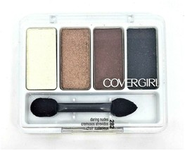 New Cover Girl Eye Enhancers Shadow #282 Daring Nudes 4-Kit Sealed Quick... - $4.49