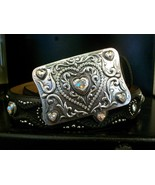 Leegin - Justin Women's Belt, Queen of Hearts, ... - $78.00