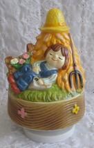 Vintage Gorham Little Boy Blue Ceramic Rotating... - $19.99