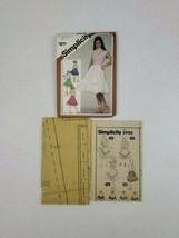 Simplicity 5906 Vintage 80' Girls' Set of Flounced Skirts Size 14 Uncut ... - $7.50