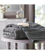 Member's Mark Hotel Premier Collection 100% Cotton Luxury Bath Towel, Grey - $18.51