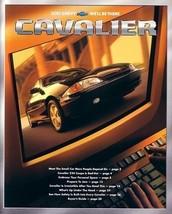 2001 Chevrolet CAVALIER brochure catalog 01 US Z24 LS Chevy  - $6.00