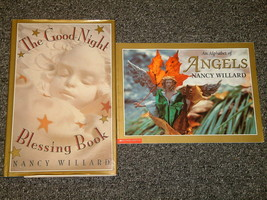 An Alphabet of Angels Good Night Blessing Book Nancy Willard - $2.00