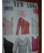 SIMPLICITY FASHION / NEW LOOK # 6087 SZ.A 6-16 - $5.95