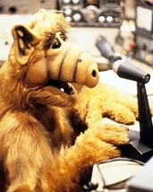 Alf At Microphone Tv Show 16X20 Canvas Giclee - $69.99