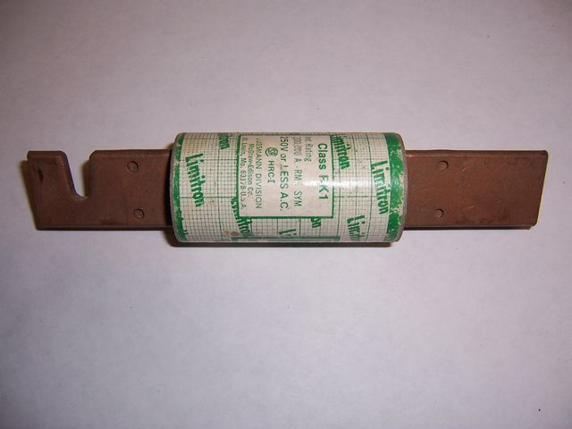 150 Amp KTN-R (250V) Class RK1 Limitron Fast-Acting Current-Limiting Fuse