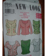 SIMPLICITY FASHION / NEW LOOK # 6945 SZ A 8-18 - $5.95
