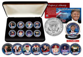 The Greatest DONALD TRUMP 45th President US Coin Set Ever Assembled * MU... - $59.35