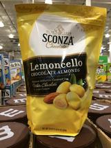 1-Pack Sconza Lemoncello Chocolate Almonds White Chocolate Lemon Cream 24 oz - $24.99