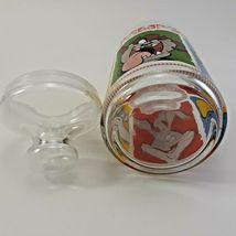1999 Warner Brothers Looney Tunes Merrie Medleys Glass Cookie Jar image 6